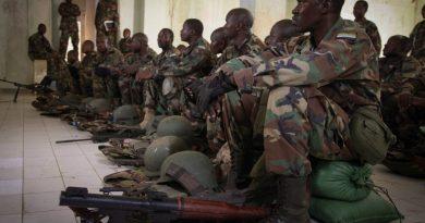 Burundi's case against pullout of its troops in Somalia