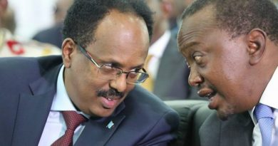 """Somalia's """"see and wait policy """"towards the maritime melt down with Kenya is commendable"""