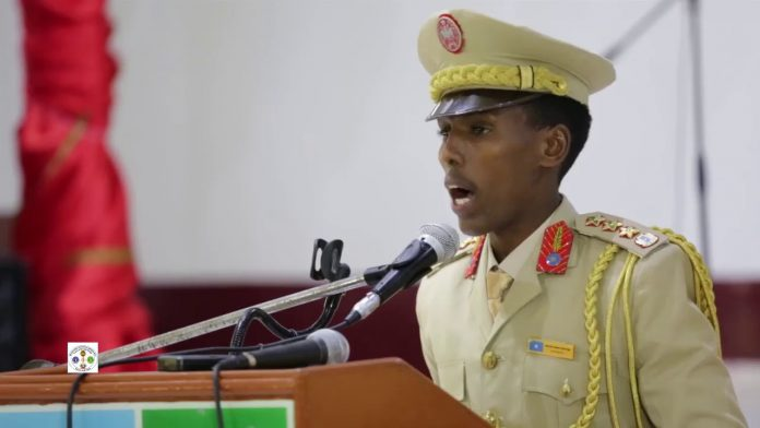 Somali's army chief praises his guards after suicide car targeted