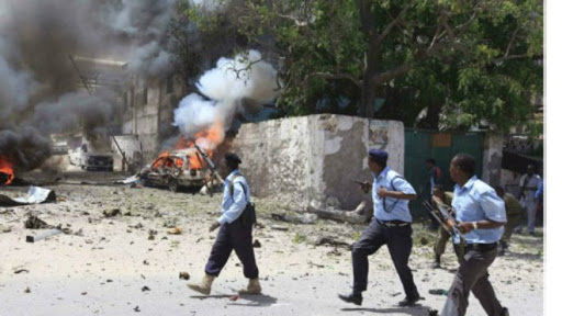 Soldiers died suicide attack in Mogadishu