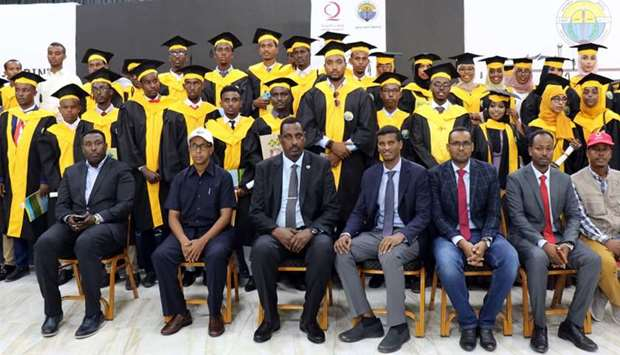 Somali Minister praises Qatar Charity for its efforts in education