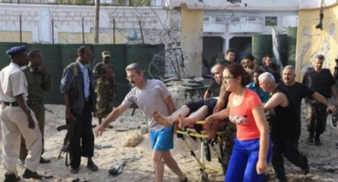 Several people killed in attack on Turkish company in Somalia
