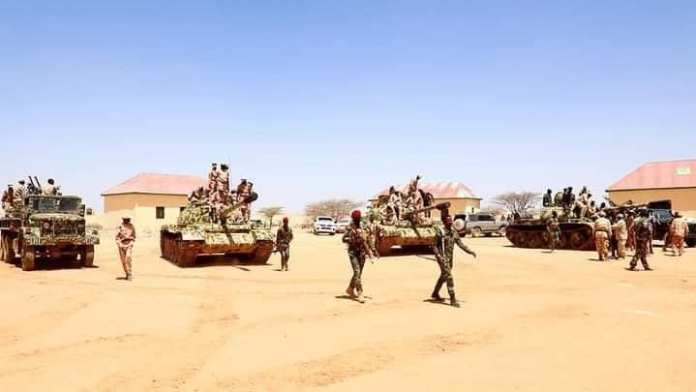 Puntland Presidency transferring weapons and equipments to Somalia's opposition