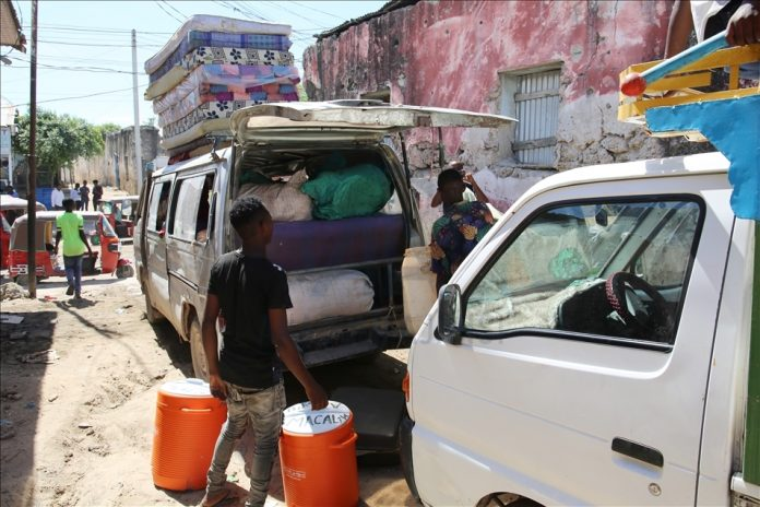 Tens of thousands displaced in Somalia amid unrest