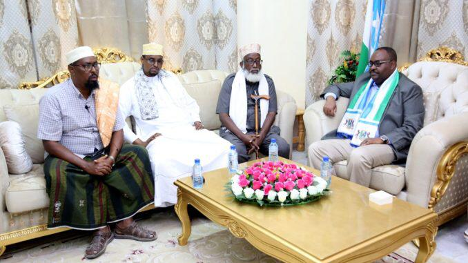 Puntland traditional elders to be guarantors of any agreement with President Deni