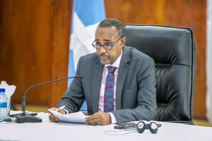 """Somali prime minister roble below stress over coaching of """"lacking"""" troops in Eritrea"""