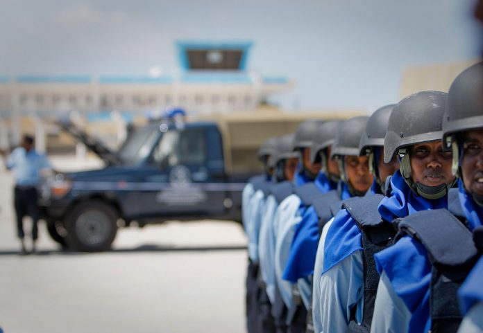 AU trains 27 Somali police officers to secure elections